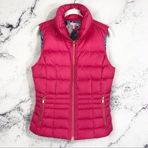 NWOT Lilly Pulitzer Syd puffer quilted Vest jacket
